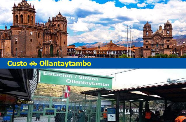 쿠스코에서 Ollantaytambo 교통까지