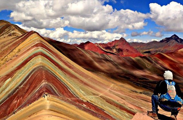 Tour della montagna del Rainbow